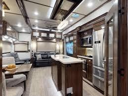 interior of a 2019 crossroads rv redwood rv rw3901wb