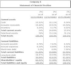 Components Of Income Statement Gorgeous The Commonsize Financial Statement Analysis Vertical And Horizontal