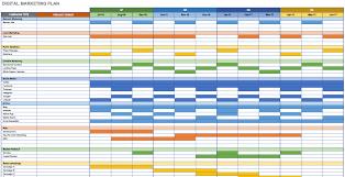 Marketing Schedule Template Free Marketing Plan Templates For Excel Smartsheet 1