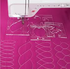 new ruler border sampler template <b>set</b> for sewing machine can ...