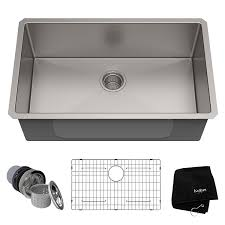 Image Farmhouse Sink Amazoncom Kraus Khu10030 Kitchen Sink 30 Inch Stainless Steel
