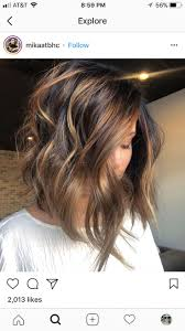 Light Caramel Ombre Hair Pin On Hair