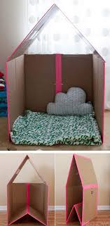 Decorating Cardboard Boxes 100 DIY Kids Games and Activities Can Make With Cardboard Boxes 69
