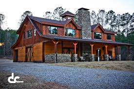 This stunning barn home in Newnan, Georgia was custom designed and built by  DC Builders