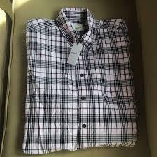 steven alan pink black plaid men s dress shirt
