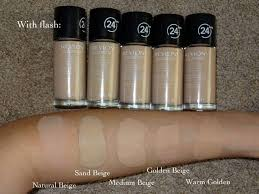Revlon Color Stay Liquid Foundation Swatches Makeup