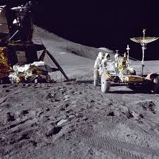 apollo christmas at the moon nasa apollo 15 lunar module and rover