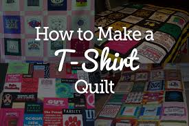 T Shirt Quilt Patterns Interesting Quick And Easy TShirt Quilt Tutorial National Quilters Circle