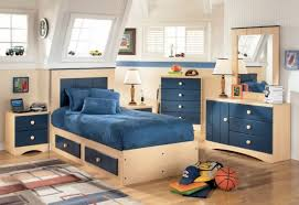 bedroom furniture for teenage boys. Delighful Bedroom Delightful Boys Room Furniture 24 Kids Boy Ideas In Blue Using Wooden  Storage Bed With Suede Bedset And Four Drawers Dresser Also White Motif Rug  Intended Bedroom For Teenage G