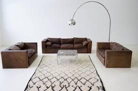 Wohnlandschaft Leder Sofa 3 Sitzer 2 Sitzer Couch