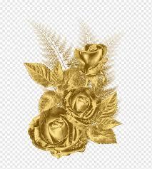 Gold Flower Rose, gold, desktop ...
