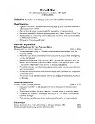 Sample Resume For Call Center Sample Resume Call Center Representative New Call Center 49