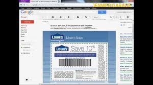 How To Get A Free Lowes 10 Off Coupon Email Delivery