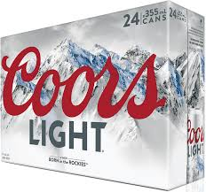 Case Coors Light Coors Light 906644 Manitoba Liquor Mart