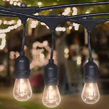 patio lights. Plain Patio Best Choice Products 48ft Commercial Weatherproof Outdoor String Lights For  Party Restaurant Patio Throughout T