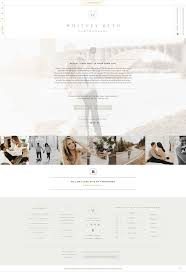 Website Design For Wedding Professionals Custom Showit Web Design For Whitney Beth Photography By