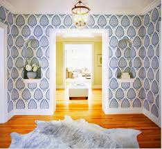 Delightful The Peak Of Tres Chic: Needing, Wanting, Loving: Katie Ridder Leaf Wallpaper,  Comes In Many Different Colorways