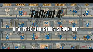 Fallout 4 Perk Chart Fallout 4 Character System Leveling New Perk Info Perk Chart Revealed Analysis