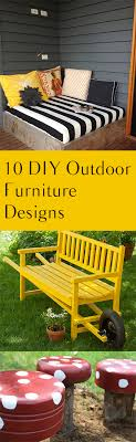 cool patio chairs 10 diy cool patio furniture designs bless my weeds