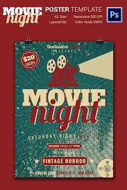 Movie Flyer Image Result For Movie Night Poster Flyer Poster Design Pinterest 7