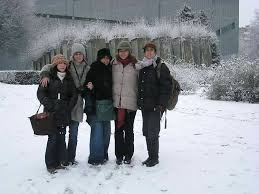 Guided Tour for Amal Mekouar and friends, 1.1.2008, Berlin ...