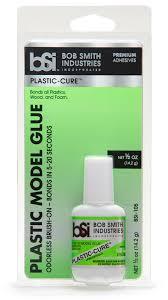 plastic cure adhesive for plastics