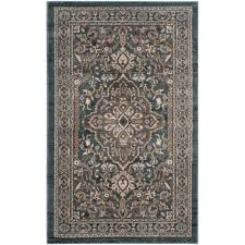safavieh lyndhurst teal gray 3 ft x 5 ft area rug