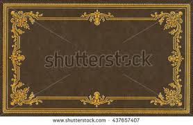 brown and gold leather book cover