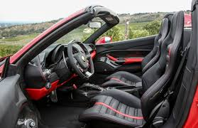 The 458 successor goes turbo. Design Superb Drop Top Driving Pleasure Overview Interior The 488 Spider S Cockpit The 488 Spider S Cockpit Was Designed To Underscore Ferrari S Formula 1 Inspired Philosophy Of Creating A Seamless Relationship Between Driver And Car The Commands Not