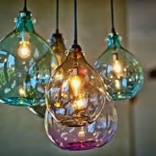 Blown glass light fixtures Unusual Colorful Blown Glass Lighting Photos Hgtv Photos Hgtv