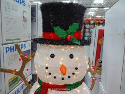 60 inch lighted snowman costco 7