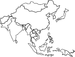 Small Picture East Asia in World Map Coloring Page Download Print Online
