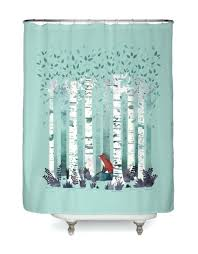 shower curtains title the birches hero shot shower curtains and accessories