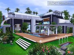 Small Picture ADC Modern house by Autaki Sims 3 Downloads CC Caboodle Sims