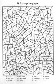 Ideas About Coloriage Magique Printemps Maternelle Coloriage Des