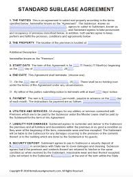 standard rental agreement template rent agreement templates under fontanacountryinn com