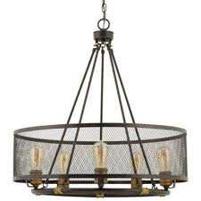 mayfield park collection 5 light forged bronze chandelier