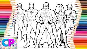 Click share this story on facebook. Justice League Coloring Pages Coloring Pages Tv Wonderwoman Superman Flash Batman Superman Youtube