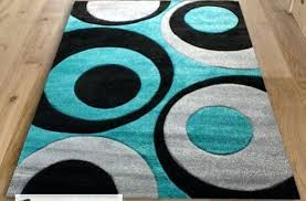 aqua blue area rug teal and black area rug red aqua blue swirls with grey funky