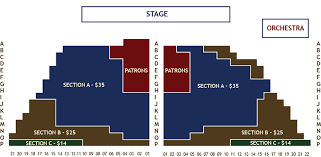 Seating Charts Leavenworth Summer Theater
