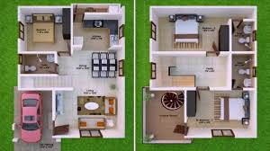 duplex house plans in 2000 sq ft youtube