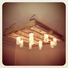 pallet mason jar chandelier 49 best pallet crafts images on pallet crafts mason house decorating
