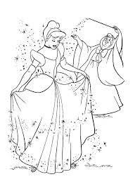 Disney Princess Coloring Pages Cinderella Dpalaw