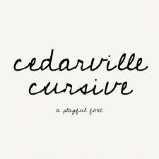 20 Favorite Free Handwriting Fonts