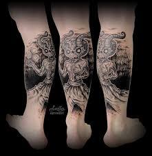 фото и эскизы тату на икре татуировки на икре особенность ухода