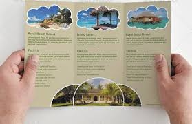 Tri Fold Brochure Template Travel Agency Simple Tri Fold Best