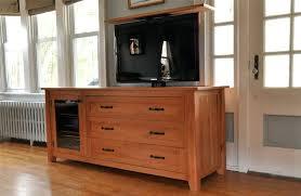 tv lift furniture solid cherry custom lift cabinet 6 diy tv lift cabinet
