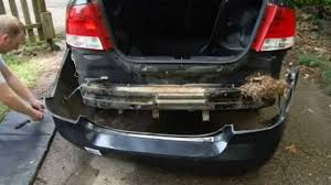 How To Remove and Install Chevy Aveo Rear Bumper Cover Part 2 ...