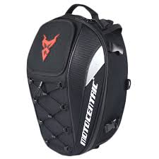 MOTOCENTRIC Waterproof <b>Motorcycle</b> Tail Bag <b>Multi</b>-<b>Functional</b> ...
