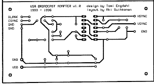 vga to rca cable diagram wiring diagram and schematic component 3 rca to d sub 15 pin adapter cable